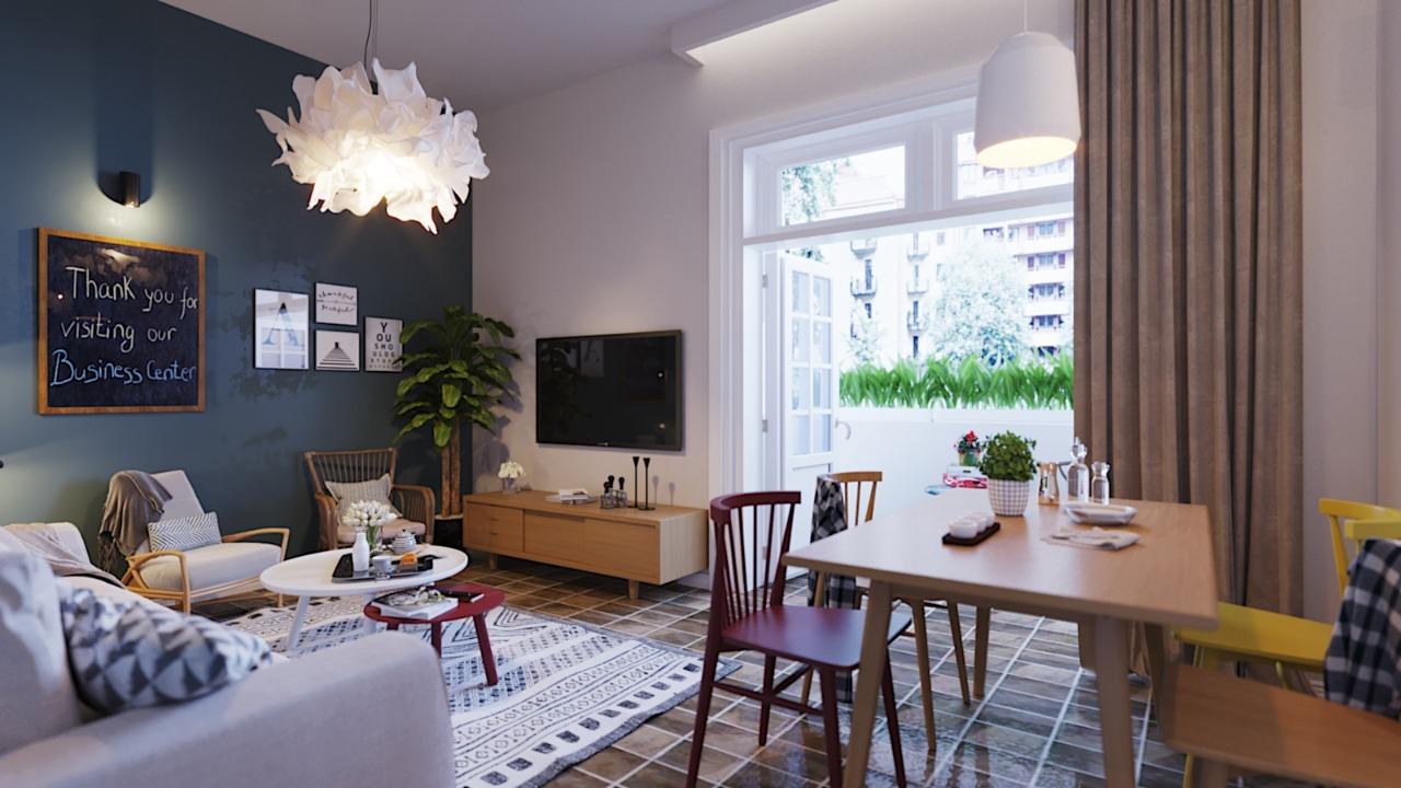 Hostel Interior design